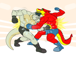 Counter Gut Punch by artographer-513