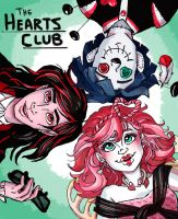 The Hearts Club by StrangeMakesArt