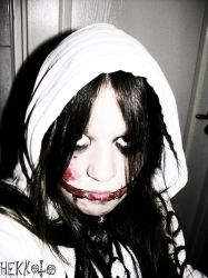 Jeff the Killer cosplay 1 by Hekkoto