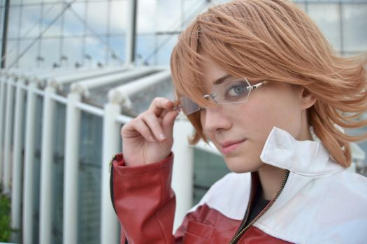Barnaby Brooks Jr - Tiger and Bunny cosplay by xRika89x