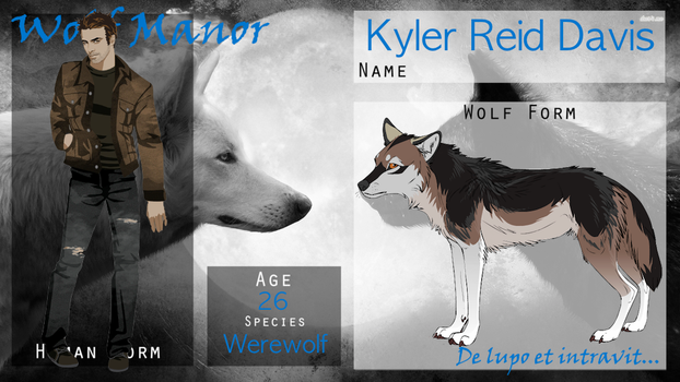 || WOGM Application || Kyler Reid Davis || by Marclenia