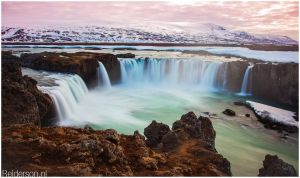 Gooafoss Waterfall Iceland by Relderson