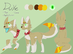 Duke Ref Sheet Commission by Cylynix