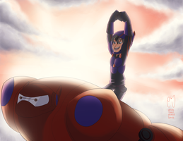 On top of the world... by URESHI-SAN