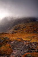 Clouds on Tilberthwaite Fells by pjones747