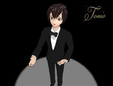 MMD Tonio Model by TwilightAnimeLife