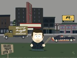 GTA 3 South Park style by redfill