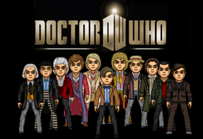 Doctor Who 50th by Valeyard-Parallax