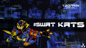 SWAT Kats Toonami 2013 Wallpaper by SegaGenesis4100