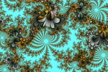 Space Flowers by shineout-fractals
