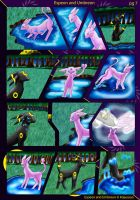 Espeon and Umbreon pg 7 by Wildfrost24