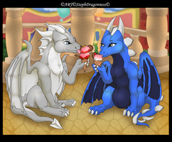 C: Ice Cream in DisneyTown by StephDragonness
