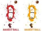 Affiche Basket21 by Bloomy021