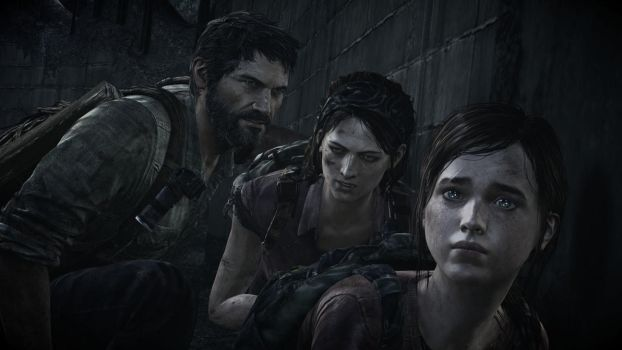 Joel, Tess and Ellie by xYAFEAx