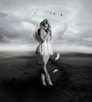 Angel Of Dark And Light by MelissaGriffin