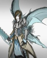 Ice Demon Lord by Arrancarfighter
