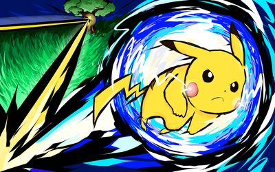 Pikachu   Volt Tackle by ishmam