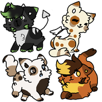 50 point cat adopts ! (2/4 OPEN) by SatisfiedYet