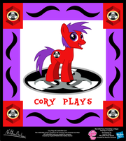 Cory Plays OC Collectible Card by StryKariSPEEDER