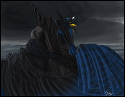 stormy reunions by littlewillow-art