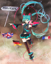 MIKU EXPO 2018 EUROPE by CeresMongrel