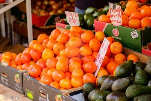 Clementines and Avocado by Eliweisz