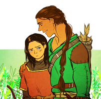 Beleg and Turin by jubah