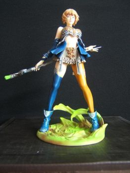 Human Mage Lineage II garage kit by jbtigre