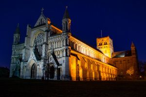 St Albans Cathedral by Daniel-Wales-Images