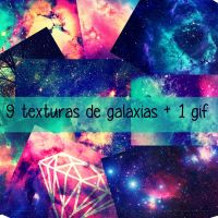 +Galaxy Textures Pack by SparksInFire