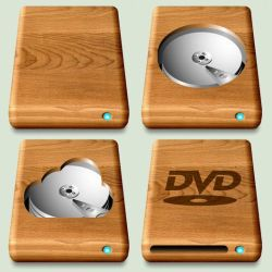 Wooden Mac Drives (Better Finish) by CitizenJustin