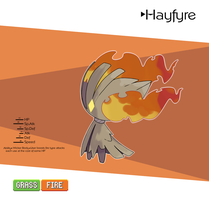 Hayfyre by Peppers-fakemon