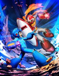 Mega Man VS Break Man - Mega Man Mastermix 3 by GENZOMAN