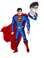 Justice League: SUPERMAN by pipe07