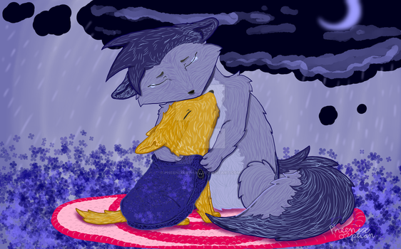 I'll miss you old friend-GiftArt for JB by Pheenixorphan