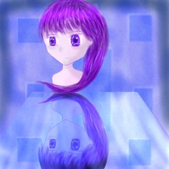 Purple Reflection by ancientlore