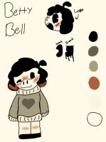Betty bell reference sheet 2017 by Shadethewolf345