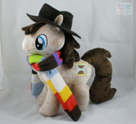 MLP: FiM 4th Doctor Pony Plushie by LiLMoon