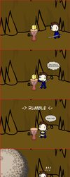 Spelunky Double Whammy by BoboMagroto