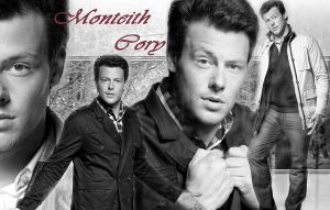 Wallpaper - Cory Monteith by DarinaBerry