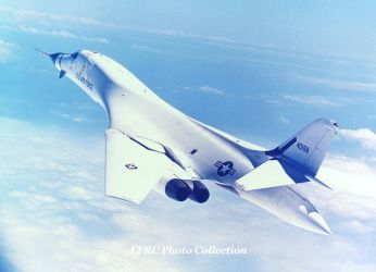 B-1A Prototype 74-0158 by fighterman35