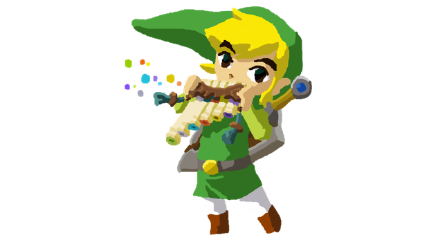 More Toon Link by Ilovebookssomuch