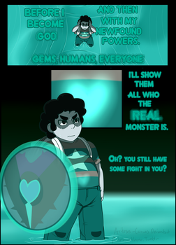 Steven's Tale-Nightmare P4 by Arteses-Canvas