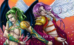 Angels and Demons by thereseldavis