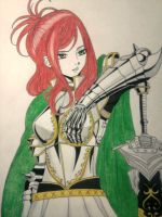 Erza Scarlet by JasonAvenger23