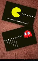 Pacman Business Card by Freshbusinesscards
