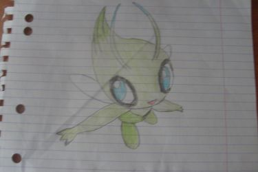 Celebi by I-Am-Dark-Link