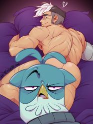 Commission: Super saucy sultry Shiro - SLAV WHAT by zillabean