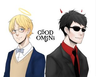 Good omens by bluehippopo