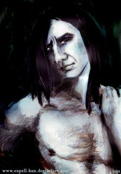 Naked Snape by Severus-Snape-Club